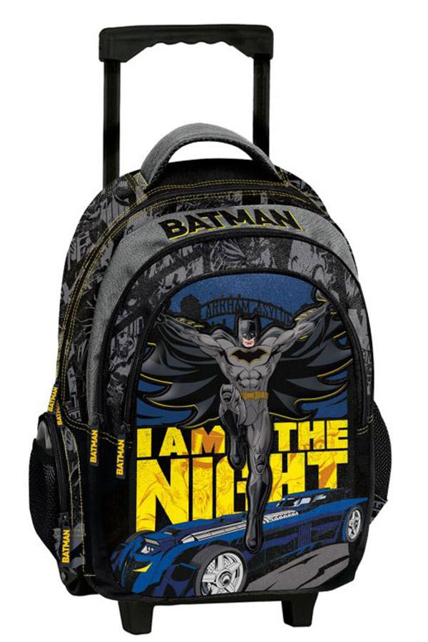 Batman Σχολική τσάντα τρόλεϊ Graffiti 215251