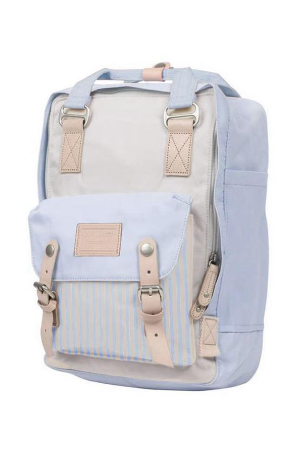 Doughnut Backpack Σακίδιο πλάτης Macaroon Stripe Stone x Blue Lotus D010-0873-F