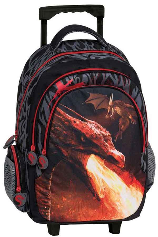 Dragon Σχολική τσάντα τρόλεϊ Graffiti 201751