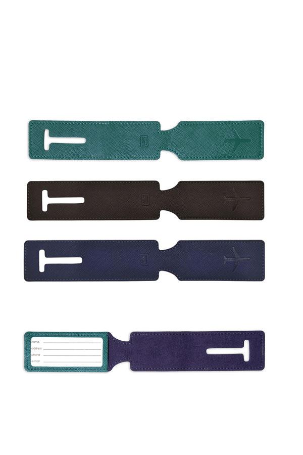Ετικέτα αποσκευών δερματίνη 1 τεμάχιο LEGAMI