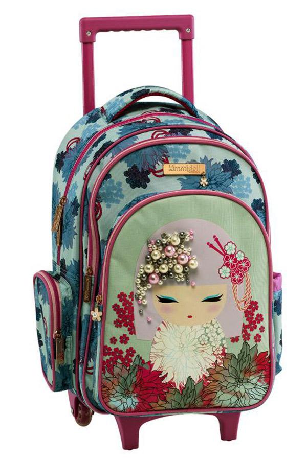 Kimmidoll Σχολική τσάντα τρόλεϊ - Akemi Graffiti 193251
