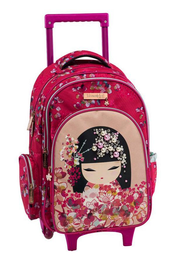 Kimmidoll Σχολική τσάντα τρόλεϊ - Sumi Graffiti 193252