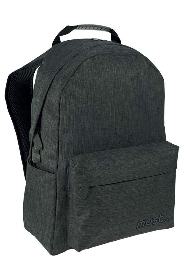 Σακίδιο BACKPACK must Monochrome Jean γκρι σκούρο 000579406