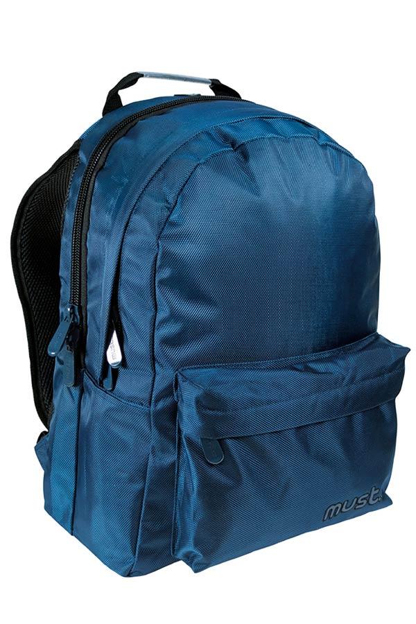Σακίδιο BACKPACK must Monochrome 3 θέσεις 1680D μπλε 000579417
