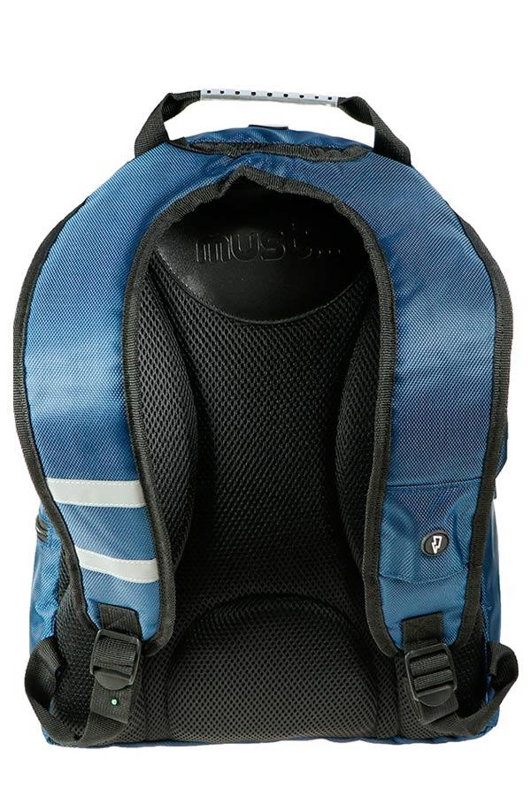 Σακίδιο BACKPACK must Monochrome 2 θέσεις 1680D μπλε 000579413