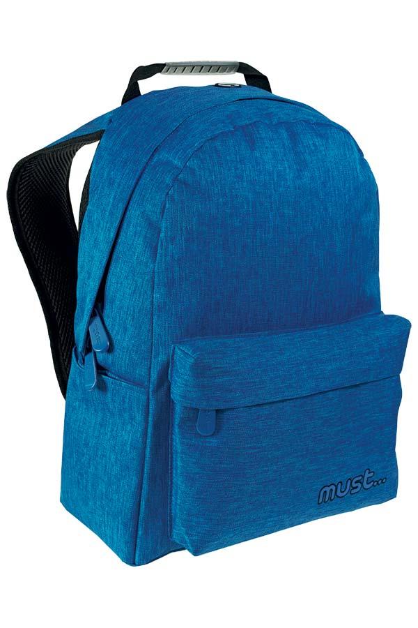 Σακίδιο BACKPACK must Monochrome Jean μπλε 000579405