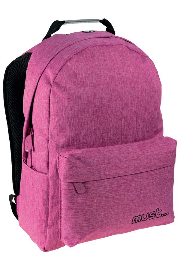 Σακίδιο BACKPACK must Monochrome Jean ροζ 000579403