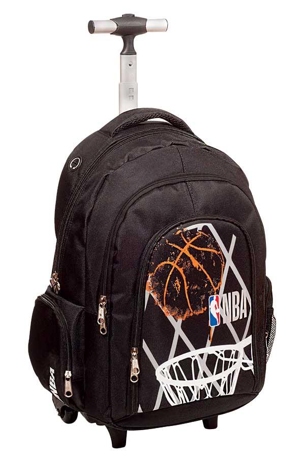 Σχολική τσάντα τρόλεϊ NBA Basket GIM 338-53074