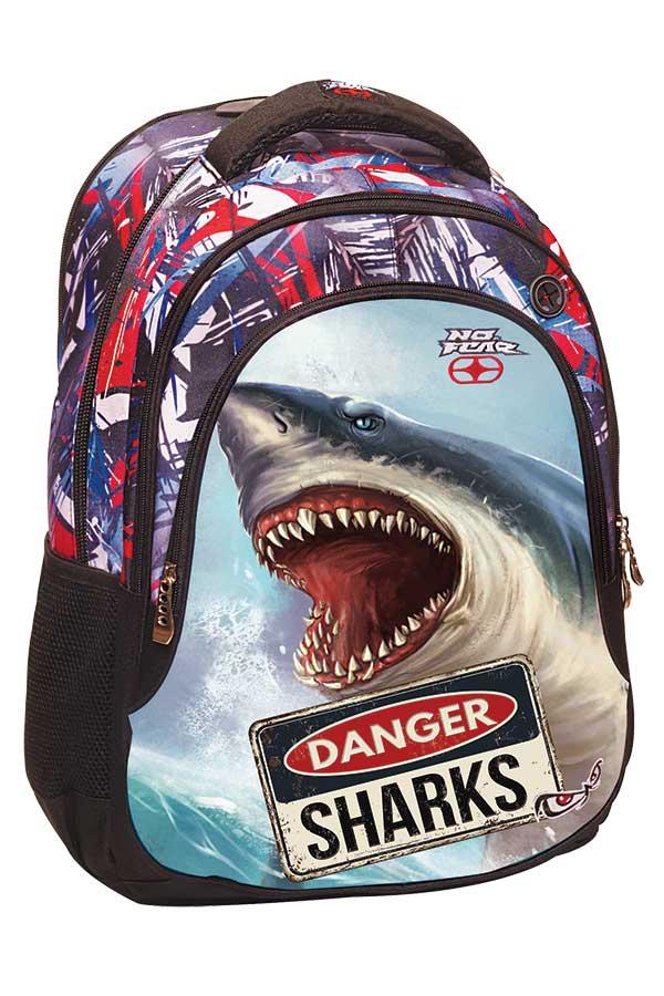 Σακίδιο πολυθεσιακό BACKPACK NO FEAR Shark 34740031