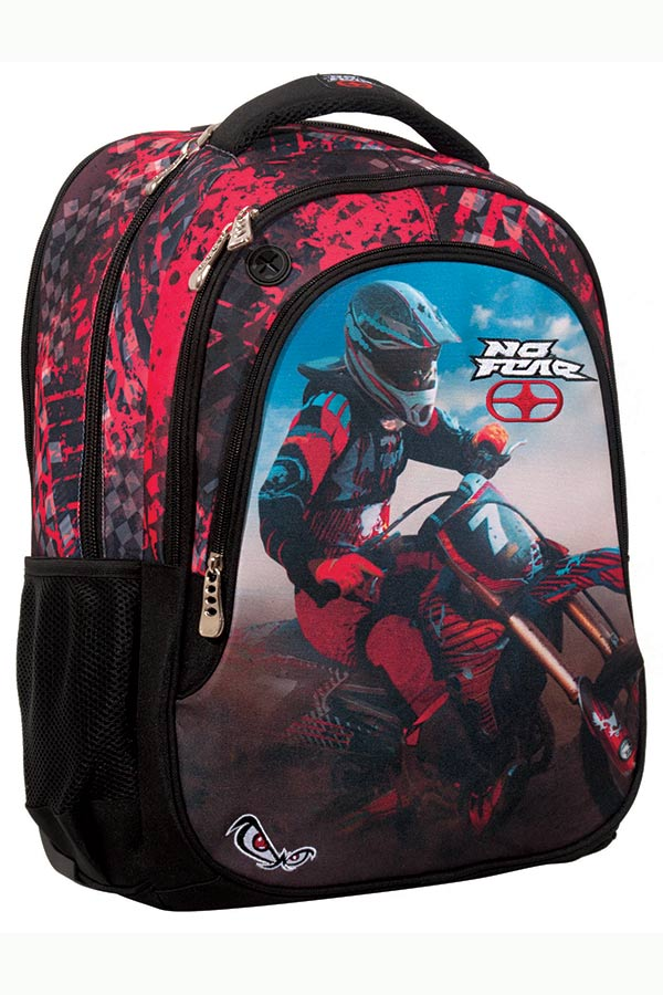 NO FEAR Σακίδιο BACKPACK red motocross 347-58031