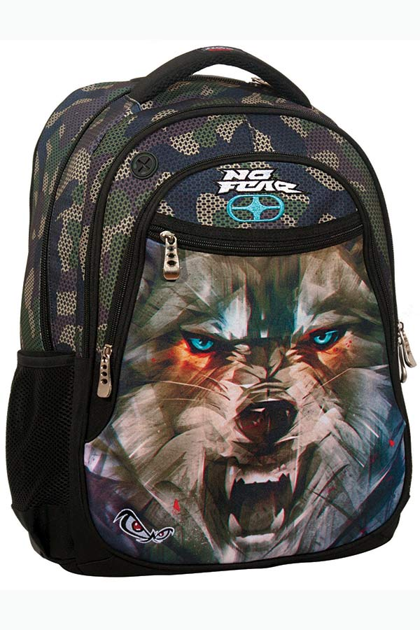 NO FEAR Σακίδιο BACKPACK army wolf 347-51031