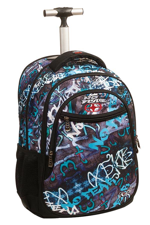 Σχολική τσάντα τρόλεϊ NO FEAR Street graffiti 34741074