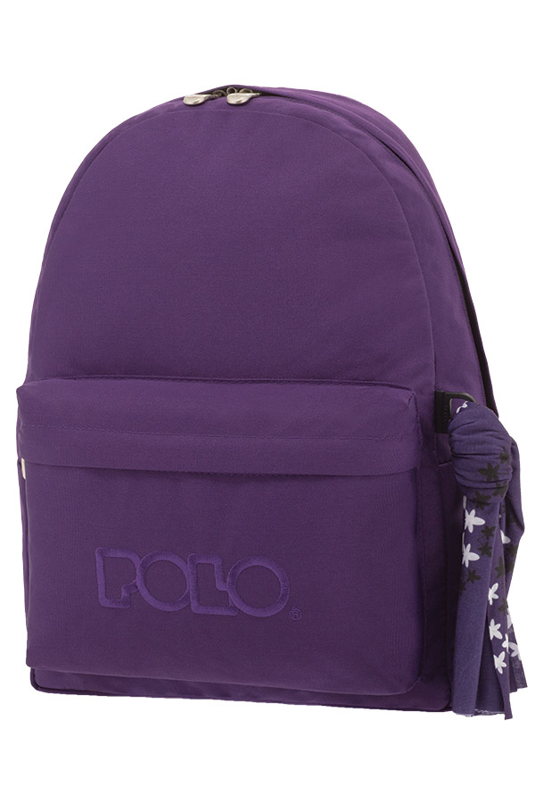 38b418e08d2 Σακίδιο POLO BACKPACK WITH SCARF σκούρο μωβ 90113521