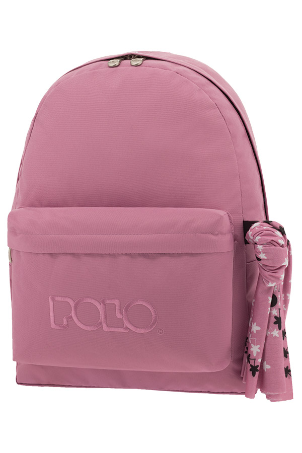 2cd4c21f86 Σακίδιο POLO BACKPACK WITH SCARF ροζ blanch 90113546