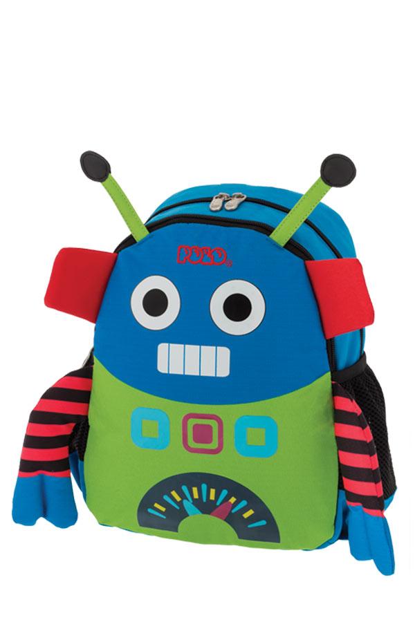 24121c0ab0e POLO BACKPACK ANIMAL JUNIOR Σακίδιο νηπιαγωγείου ρομπότ 90101470