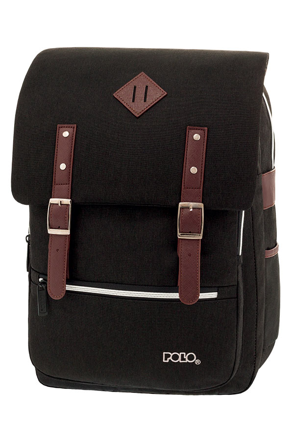 02d0a45f2c POLO BACKPACK Σακίδιο GROOVY μαύρο 90123902