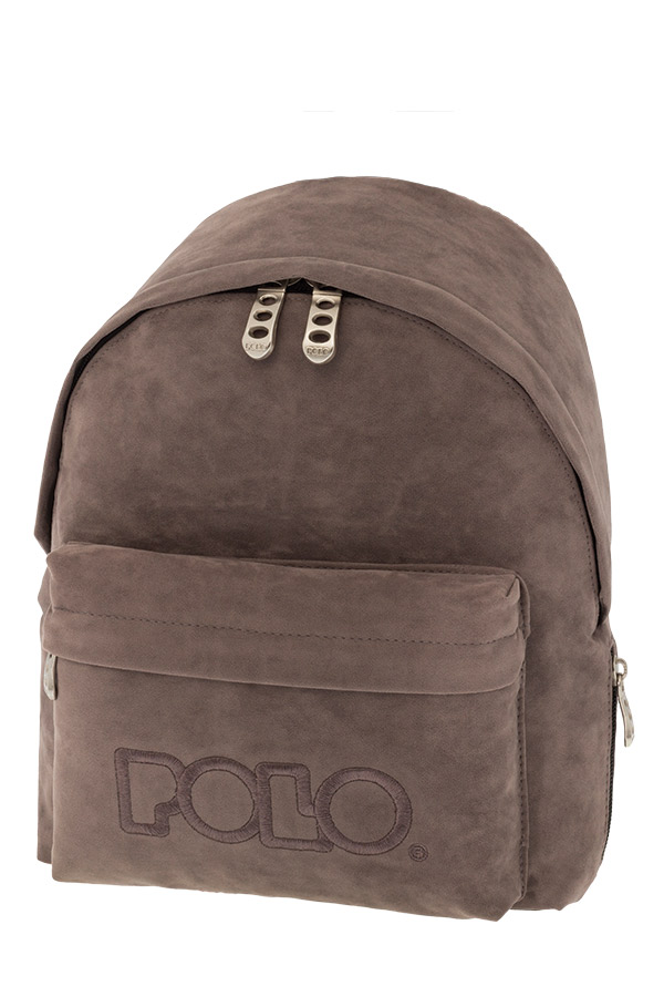POLO BACKPACK Σακίδιο MINI VELVET γκρι 90714909