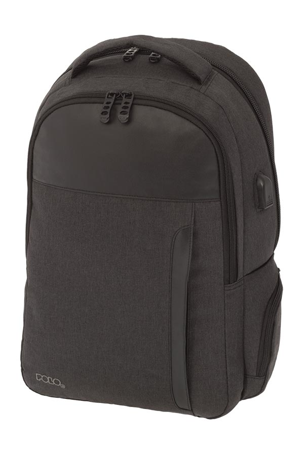 POLO BACKPACK Σακίδιο ROBUST γκρι σκούρο 90124909