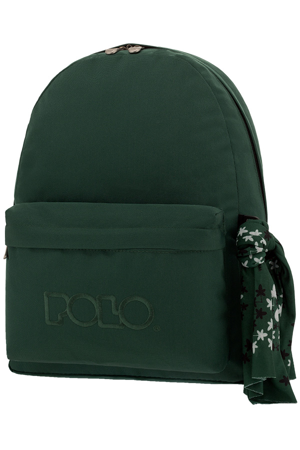 91ed65be082 Σακίδιο POLO BACKPACK WITH SCARF πράσινο κυπαρισσί 90113531