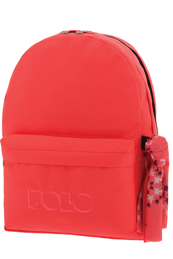 574af239e2 Σακίδιο POLO BACKPACK DOUBLE WITH SCARF φούξια φθορίζον 90123526