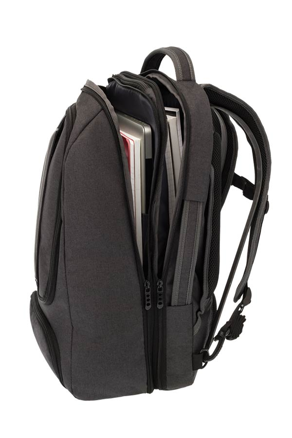 POLO Σακίδιο με θέση για laptop 17 inches TECTONIC μαύρο 90200202