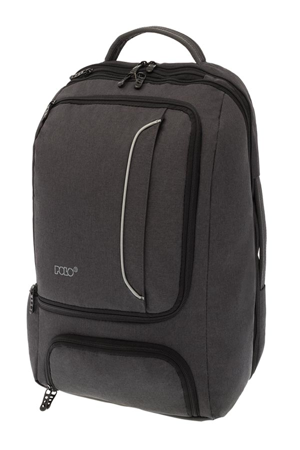 POLO BACKPACK Σακίδιο laptop TECTONIC μαύρο 90200202