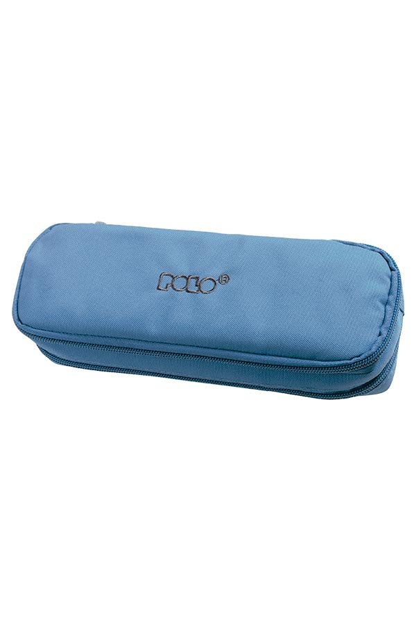 fb2ea5171a Κασετίνα σχολική διπλή POLO DUO BOX γαλάζιο 937004
