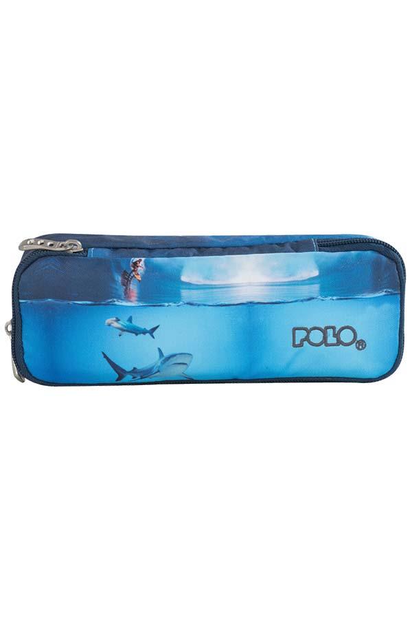Κασετίνα σχολική POLO CASE SHARK surf 93721705
