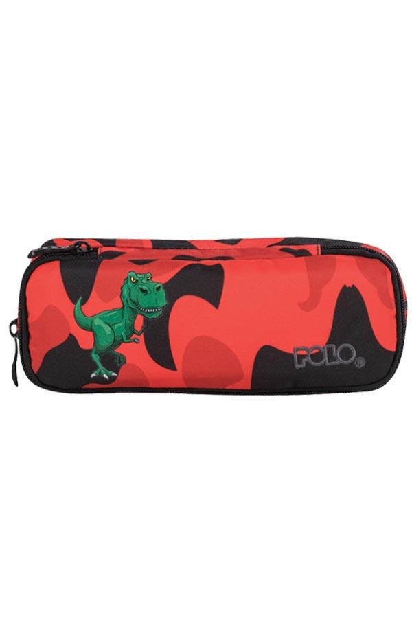 Κασετίνα σχολική POLO CASE BIKE δεινόσαυρος 93721803