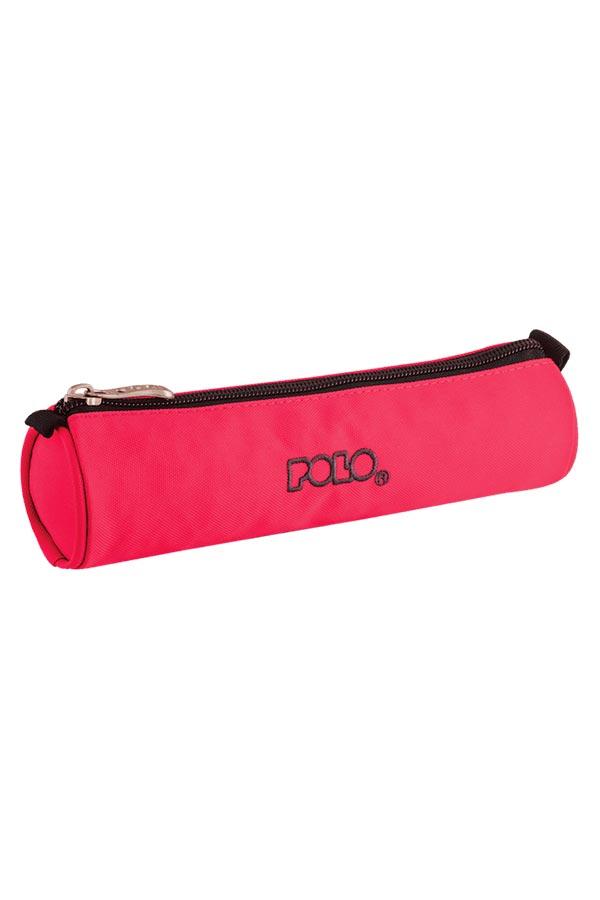 POLO CASE ROLL Κασετίνα σχολική ροζ φθορίζον 93700919
