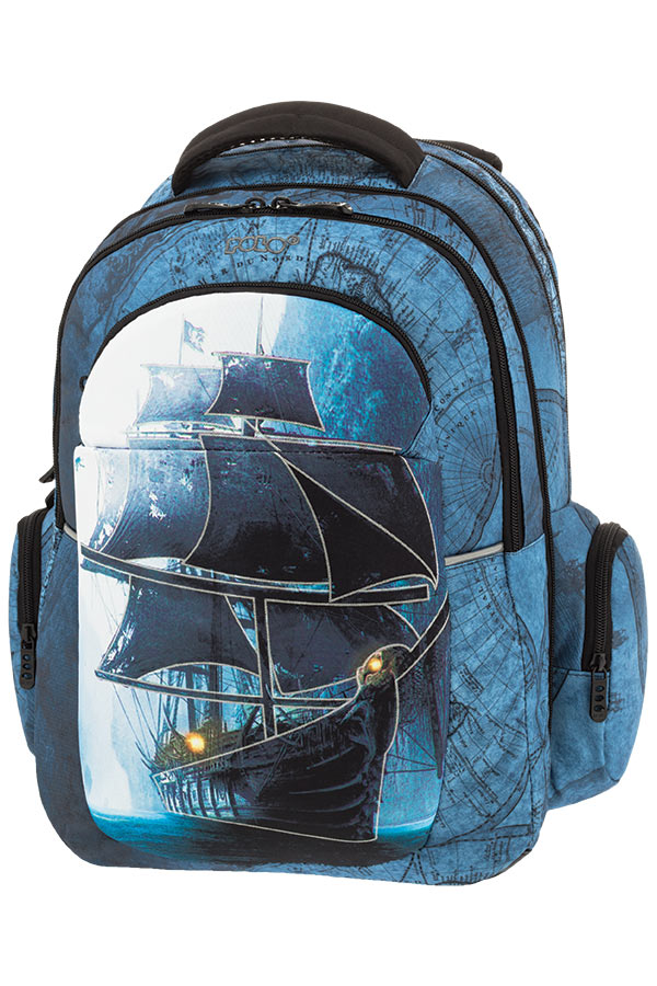 POLO BACKPACK Σακίδιο EXPAND GLOW καράβι 90125409