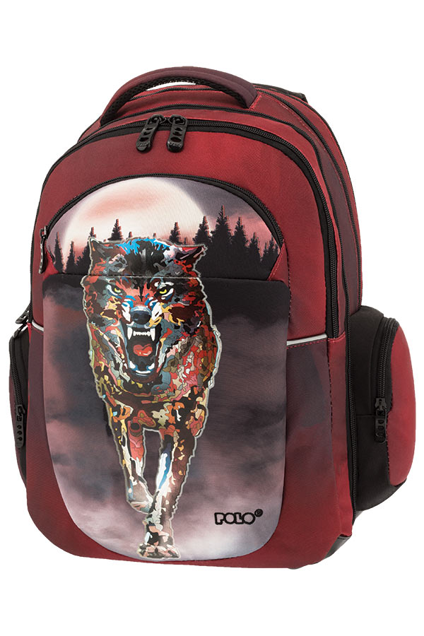 POLO BACKPACK Σακίδιο EXPAND GLOW λύκος 90125430