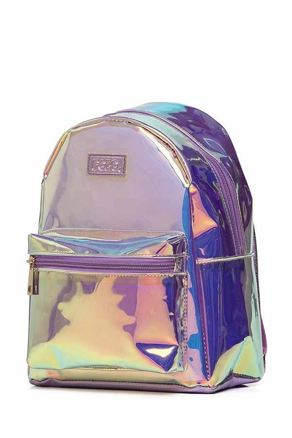 Σακίδιο mini POLO BACKPACK QUENNA holographic 9071598043 2020