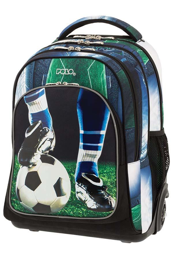 03eb3841abc POLO TROLLEY BAG TROLLER GLOW Σχολική τσάντα τρόλεϊ Ποδόσφαιρο 90125170 ...