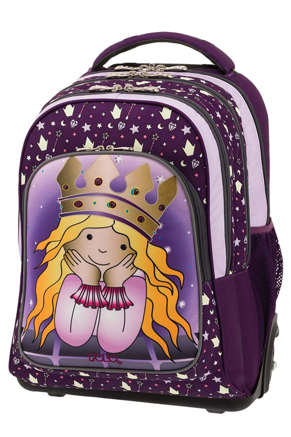 e5a866fedd9 POLO TROLLEY BAG TROLLER GLOW Σχολική τσάντα τρόλεϊ Πριγκίπισσα 90125172 ...
