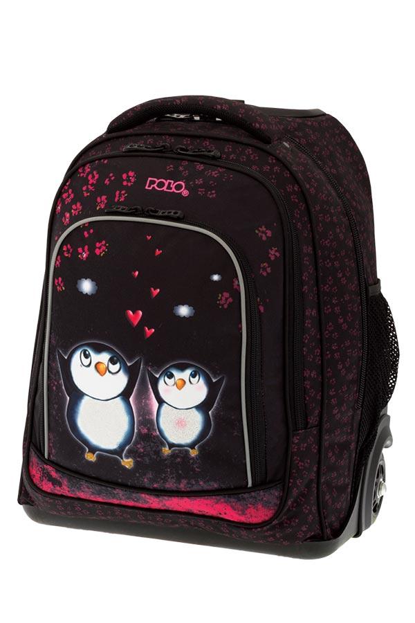 d5cdedf31fd POLO BACKPACK TROLLEY Σχολική τσάντα τρόλεϊ Πιγκουίνοι 90122902