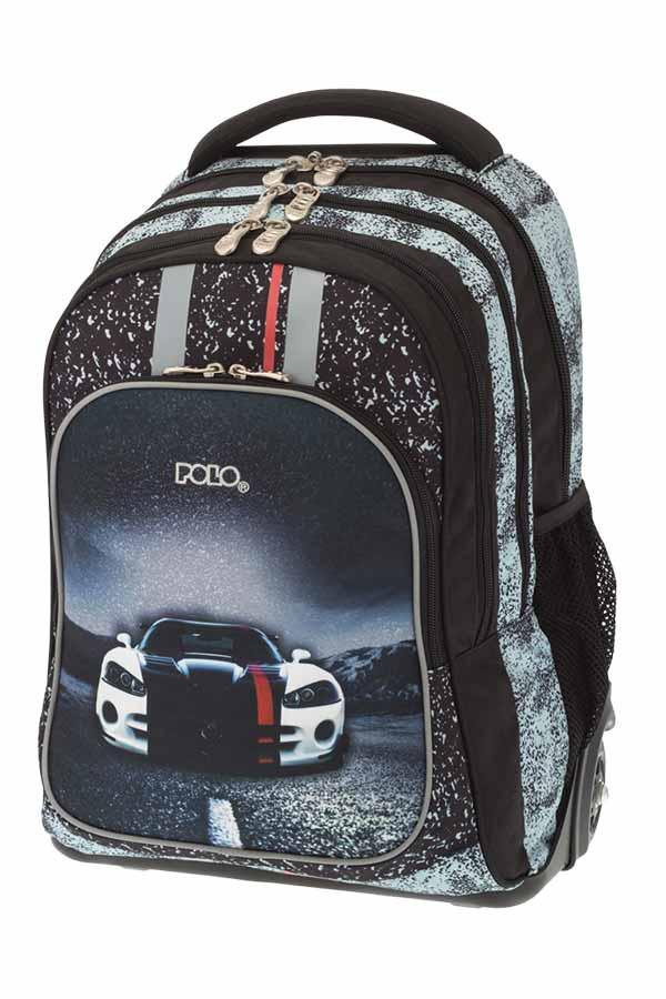 e18a1fdbe37 POLO BACKPACK TURBO Σχολική τσάντα τρόλεϊ Αυτοκίνητο 90122802