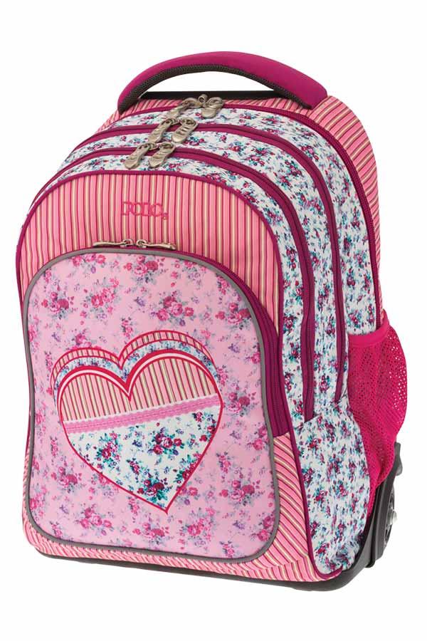 993820449ec POLO BACKPACK TURBO Σχολική τσάντα τρόλεϊ Καρδιά 90122816