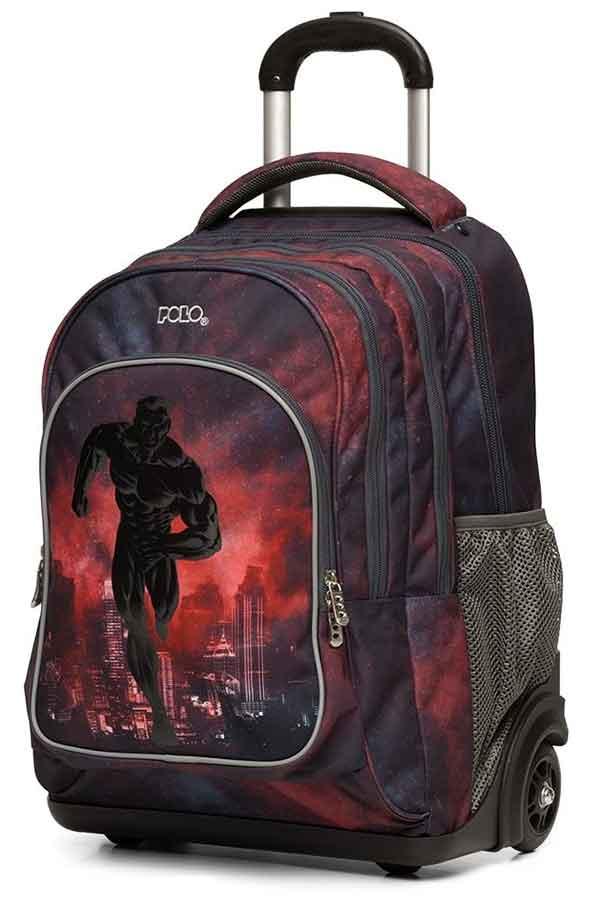 POLO TROLLEY BAG WHEELIX GLOW Σχολική τσάντα τρόλεϊ 9012648004 2020