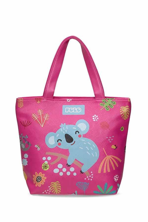 Τσάντα ώμου mini POLO SHOPPER CUTE ζωάκια 90796319 2020