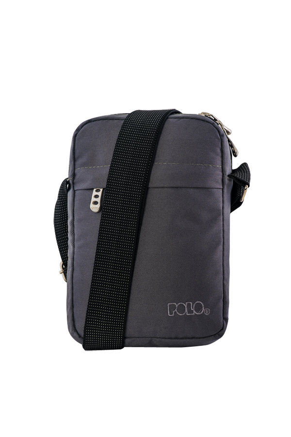 POLO Τσαντάκι SHOULDER BAG WAVE ΓΚΡΙ 90710109