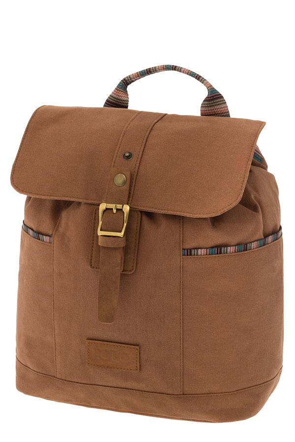 POLO BACKPACK CANVAS LADY Σακίδιο πλάτης μικρό καφέ 90715236
