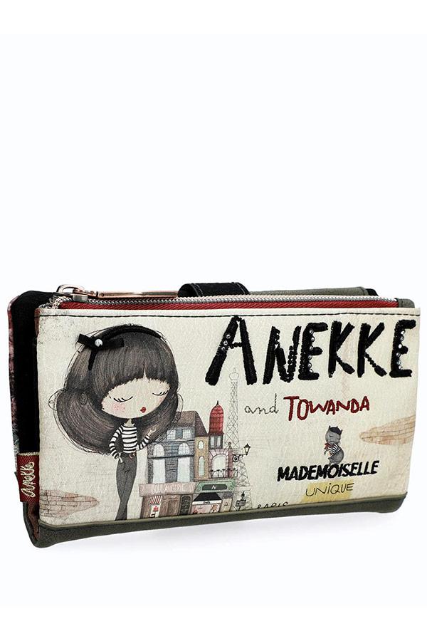 Anekke Coco Πορτοφόλι μεγάλο με κουμπί 29889-07