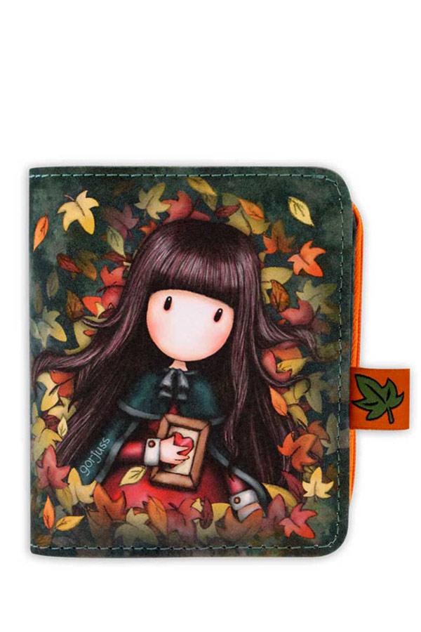 Santoro gorjuss Πορτοφόλι δερματίνη διπλό - Autumn leaves 1030GJ01