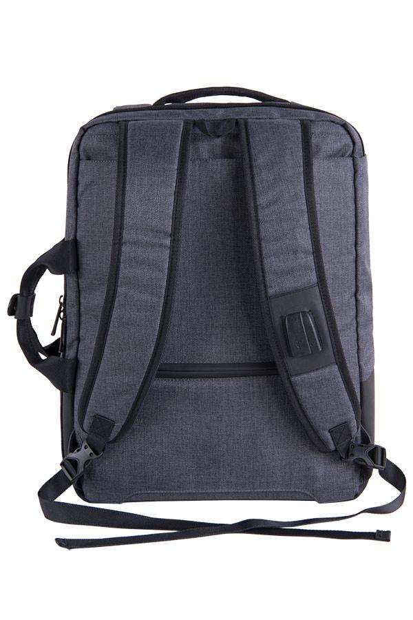 Σακίδιο - Χαρτοφύλακας με θέση για laptop 15,6 inches PULSE NEPTUN γκρι 121377