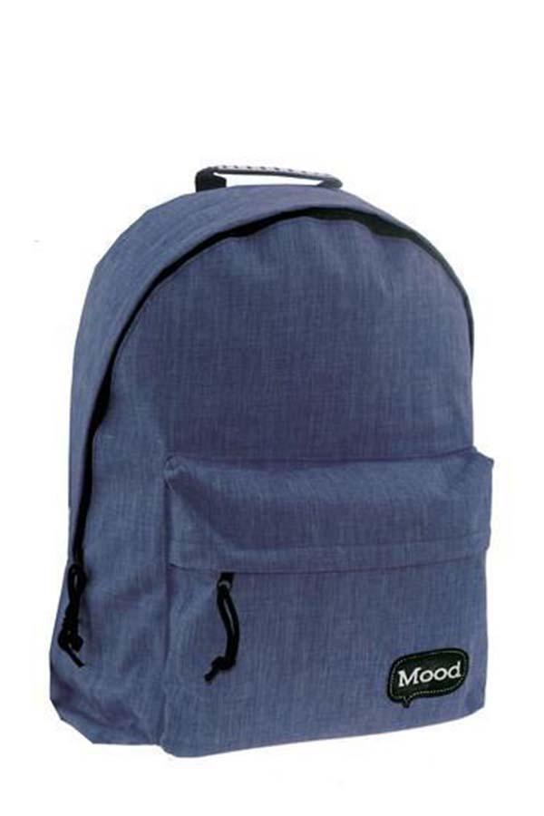 Σακίδιο BACKPACK Mood Sigma jean μπλε 580185