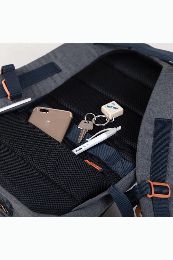 MILAN Σακίδιο με θέση για laptop 17 inches Igloo II γκρι 624403G