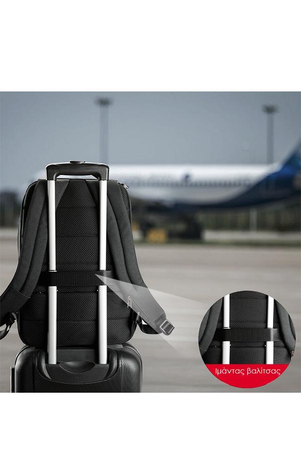 Σακίδιο με θέση για laptop 15,6 inches TIGERNU backpack μαύρο T-B3533
