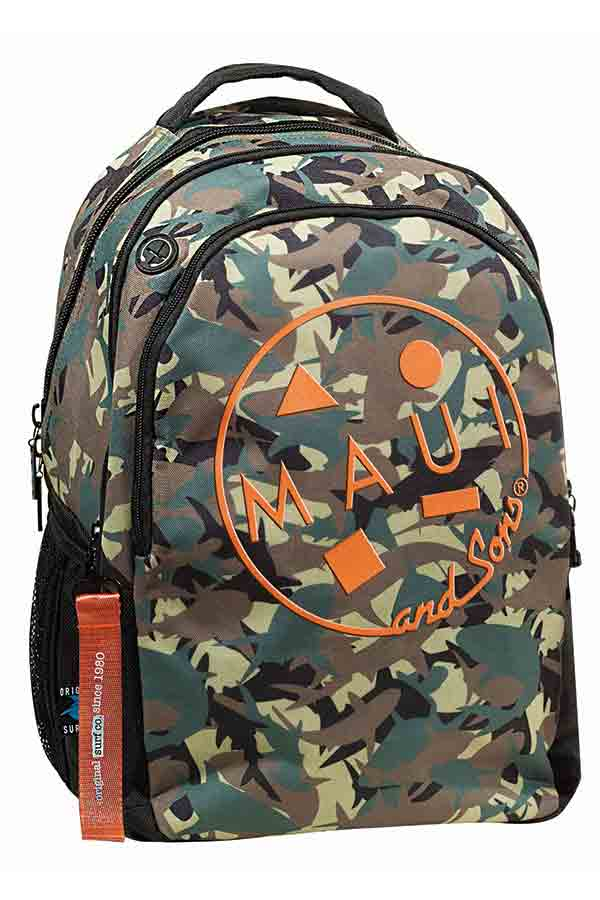 Maui and Sons Σακίδιο BACKPACK Militaire 339-50031