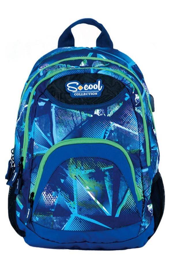 S.COOL BACKPACK Σακίδιο πλάτης DAY-TO-DAY SC.491